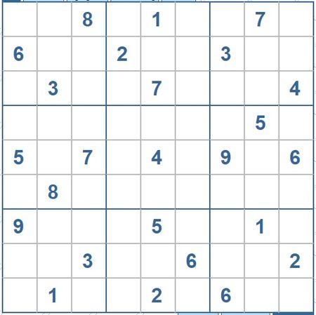 Moi cac ban thu suc voi o so Sudoku 3522 muc do Kho - Anh 1