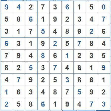Moi cac ban thu suc voi o so Sudoku 3522 muc do Kho - Anh 2
