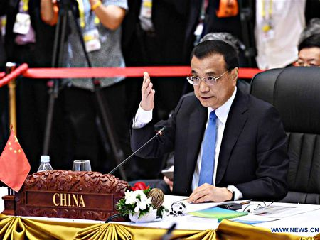 Trung Quoc giuc ASEAN ngan su can thiep tu ben ngoai vao Bien Dong - Anh 1