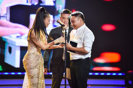 Nha Phuong, Truong Giang cung thang giai VTV Awards - Anh 7