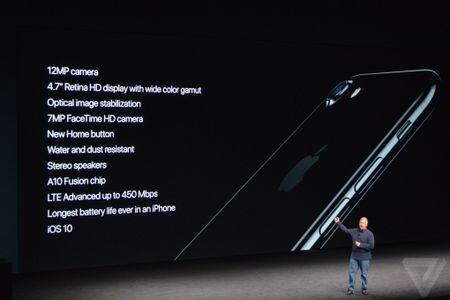 iPhone 7 ra mat: Chong nuoc, camera kep, gia tu 649 USD - Anh 2
