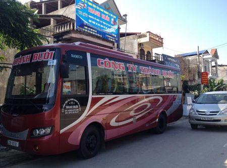 Yeu cau Cong ty Thanh Buoi ngung kinh doanh tai bai xe trai phep - Anh 1