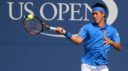US Open: Nishikori bat ngo 'quat nga' HCV Olympic Murray - Anh 1