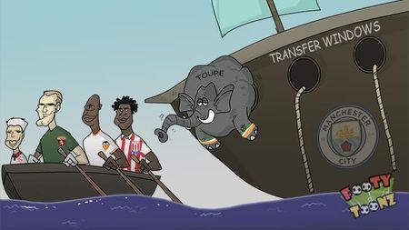 Biem hoa 24h: Yaya Toure, Joe Hart thi nhau 'tra thu' Pep Guardiola - Anh 1