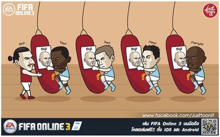 Biem hoa 24h: Yaya Toure, Joe Hart thi nhau 'tra thu' Pep Guardiola - Anh 2