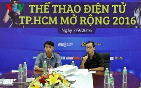 Sap khai mac Giai the thao dien tu TPHCM mo rong 2016 - Anh 1