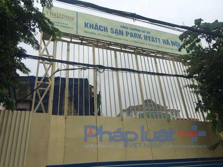 Du an khach san Park Hyatt Ha Noi 'map mo' tinh phap ly, bau Thuy dang toan tinh dieu gi? - Anh 2