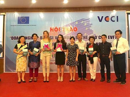 Trang bi kien thuc ve EVFTA cho doanh nghiep mien Trung - Anh 1