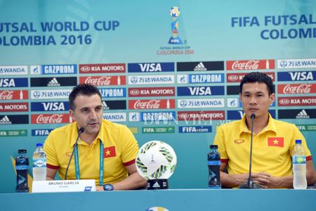 'DT futsal Viet Nam can quen chien thang truoc Guatemala' - Anh 1