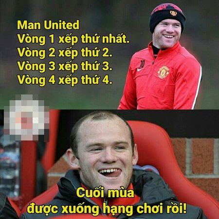 Anh che: Mo U the hien phong do huy diet 'lui dan deu'; Pep troc 'choi xo' Rooney vi bi mat khong tuong - Anh 1