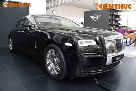 Chi tiet sieu xe sang Rolls-Royce Ghost Series II 19 ty tai VN - Anh 18