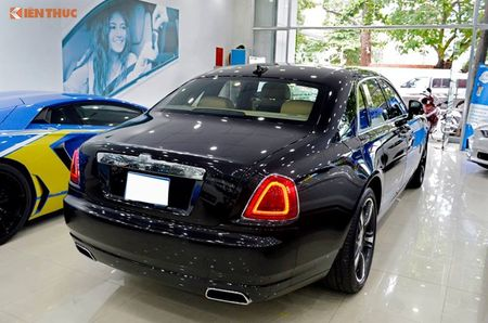 Chi tiet sieu xe sang Rolls-Royce Ghost Series II 19 ty tai VN - Anh 3