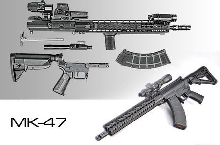 """Soi mat khau sung """"con lai"""" hoan hao cua AK-47 va M16 - Anh 11"""