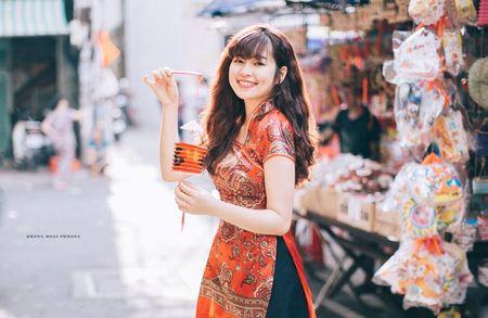 Hot girl pho nui khoe anh ngot ngao don Trung thu - Anh 1
