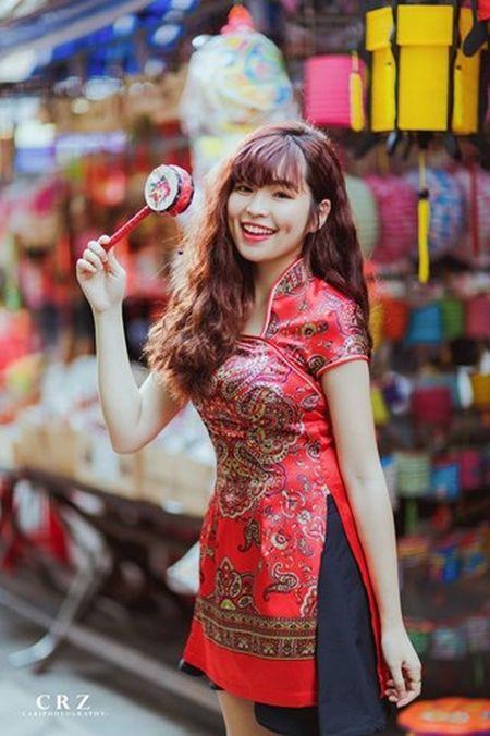 Hot girl pho nui khoe anh ngot ngao don Trung thu - Anh 3
