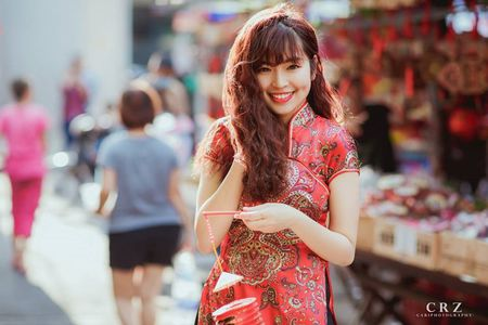 Hot girl pho nui khoe anh ngot ngao don Trung thu - Anh 5
