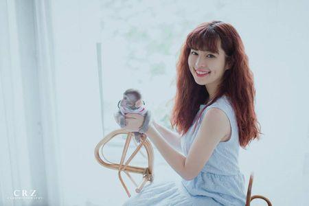 Hot girl pho nui khoe anh ngot ngao don Trung thu - Anh 7