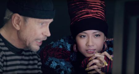 Rapper Viet Suboi cung dan sao quoc te dong quang cao cho BST Kenzo x H&M - Anh 2