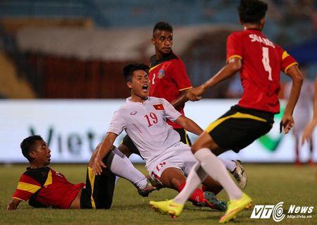 U19 Viet Nam trut bo ap luc, thang dam U19 Dong Timor - Anh 1