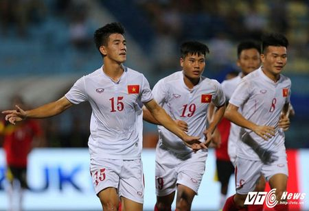 U19 Viet Nam trut bo ap luc, thang dam U19 Dong Timor - Anh 2