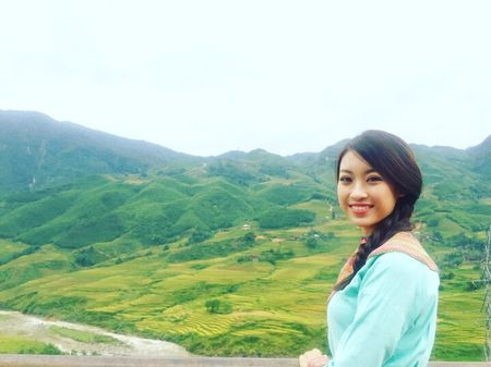 Hoa hau Viet Nam 2016 Do My Linh choang ngop truoc ve dep cua Sapa - Anh 1