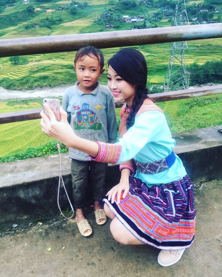 Hoa hau Viet Nam 2016 Do My Linh choang ngop truoc ve dep cua Sapa - Anh 6