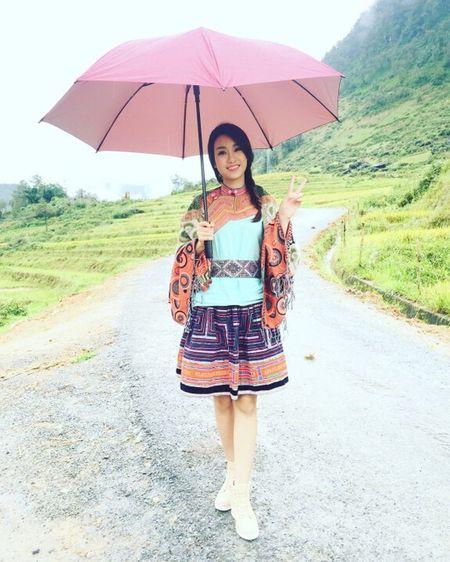 Hoa hau Do My Linh quang ba du lich tai Sapa - Anh 1