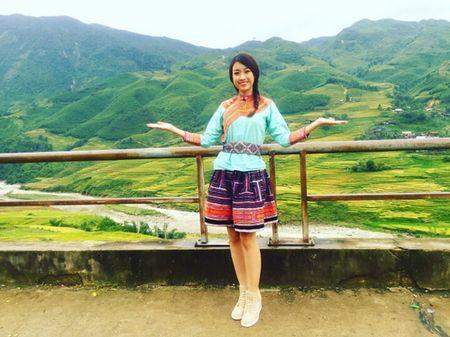 Hoa hau Do My Linh quang ba du lich tai Sapa - Anh 4