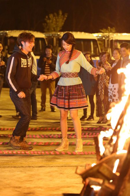 Hoa hau Do My Linh quang ba du lich tai Sapa - Anh 5