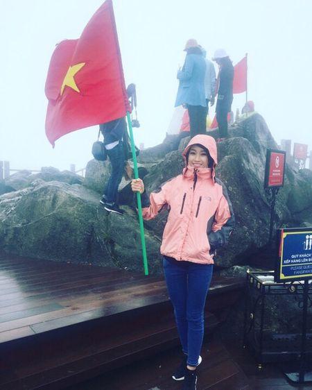 Hoa hau Do My Linh quang ba du lich tai Sapa - Anh 9