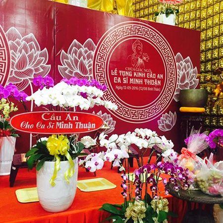 Phuong Thanh to chuc le cau an cho Minh Thuan nhung vang mat do ban luu dien - Anh 4