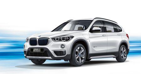 BMW X1 Plug-in hybrid LWB chinh thuc trinh lang - Anh 1
