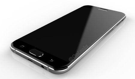 Galaxy A8 (2016) lo thiet ke ket hop kinh va kim loai - Anh 4