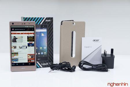 Khui hop dien thoai 3 SIM Acer Liquid X2 gia 6,9 trieu dong - Anh 2