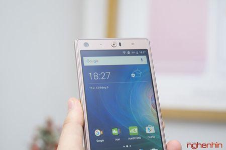 Khui hop dien thoai 3 SIM Acer Liquid X2 gia 6,9 trieu dong - Anh 4