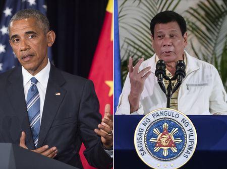 "Tong thong Philippines bat ngo thua nhan ""lam mat mat"" ong Obama - Anh 1"