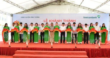 Khanh thanh Nha lop hoc bo mon Truong THCS Viet Xuan do Vietcombank tai tro 3 ty dong - Anh 1