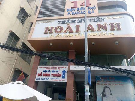 Tham my vien Hoai Anh: Chuyen vien tu van tu 'dien' phieu thu va 'lam tien' khach hang? - Anh 1