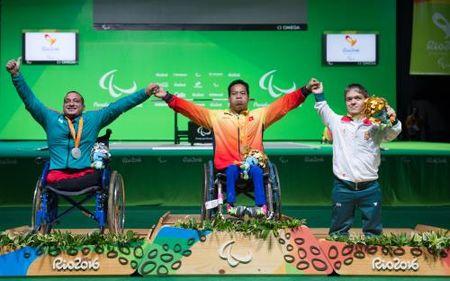 Thuong nong cho tat ca cac van dong vien gianh huy chuong tai Paralympic 2016 - Anh 1