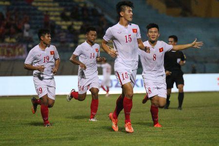 Thang de U.19 Dong Timor, U.19 Viet Nam gianh ngoi dau bang A - Anh 1