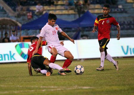 Thang de U.19 Dong Timor, U.19 Viet Nam gianh ngoi dau bang A - Anh 2
