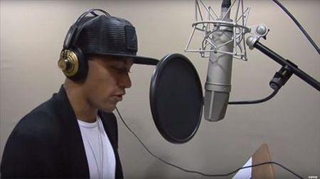 """Neymar khoi dong su nghiep am nhac bang single dau tay """"Neymusico"""" - Anh 1"""