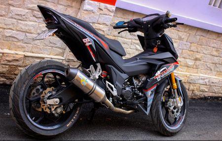 Honda Winner 150 do do choi hang hieu cua biker An Giang - Anh 6
