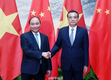 Thu tuong: Khong de van de tren bien anh huong quan he Viet-Trung - Anh 1