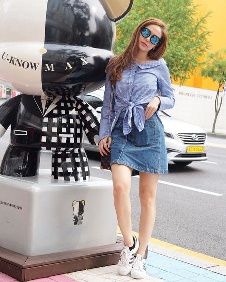 Ngam street style tu tinh te den goi cam cua my nhan Viet tuan qua - Anh 3