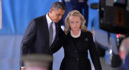De nhat phu nhan Michelle Obama tich cuc giup ba Clinton vuot qua song gio benh tinh - Anh 2
