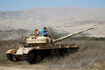 Israel khong kich dap tra dan phao tu Syria - Anh 1
