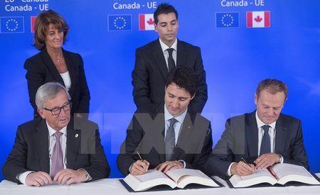 EU-Canada mo ra mot chuong moi trong hop tac thuong mai - Anh 1