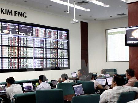 Chung khoan do san, VN-Index mat hon 6 diem phien cuoi thang Muoi - Anh 1