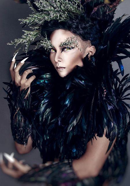 Sao Viet hoa trang Halloween rung ron doa fan dung tim - Anh 5